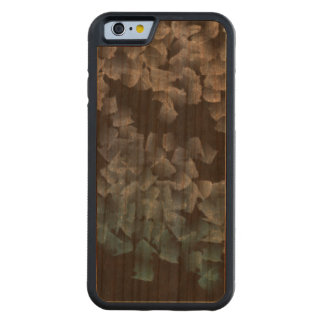 Paper pieces on the ground cherry iPhone 6 bumper case