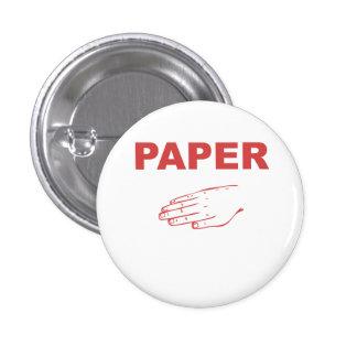Paper Pinback Button