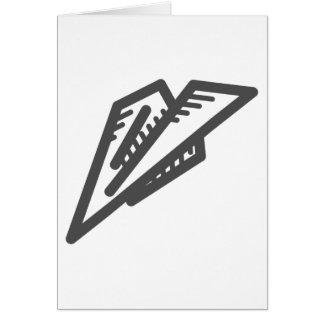 Paper Plane Card