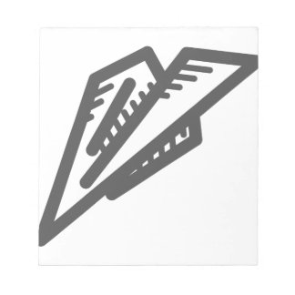 Paper Plane Notepad
