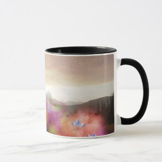 paper planes mug