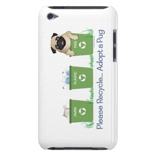 Paper, Plastic, Pug Smartphone Cases iPod Touch Cover