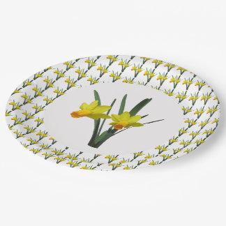 Paper Plate - Daffodils