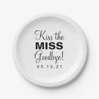 Paper Plate - Kiss the Miss