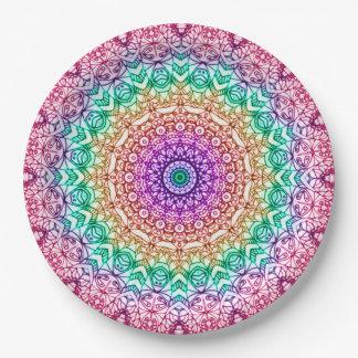 Paper Plate Mandala Mehndi Style G379
