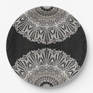 Paper Plate Mandala Mehndi Style G384