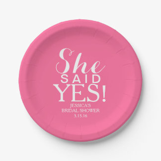 Paper Plate - She Said Yes