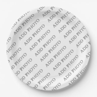"Paper Plates 9"" Create Your Own 9 Inch Paper Plate"