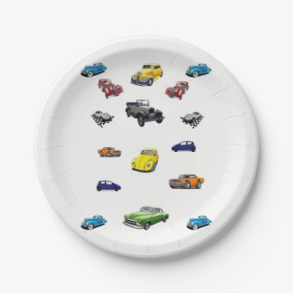 Paper plates Cars