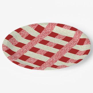 Paper plates decorative 9 inch paper plate