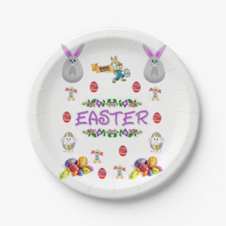 Paper plates Easter