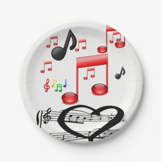 Paper plates Music