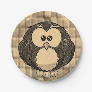 Paper plates Penguin