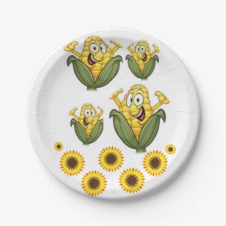 Paper plates Popcorn