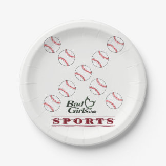 Paper plates Sports