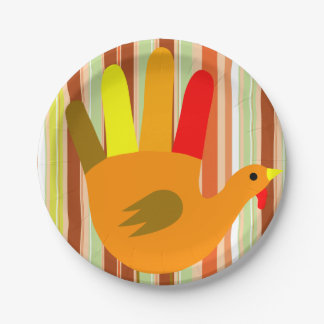 Paper plates Thanksgiving