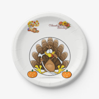 Paper plates Thanskgiving