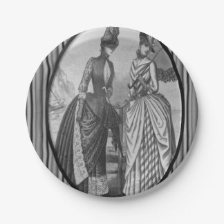 Paper plates Victorian