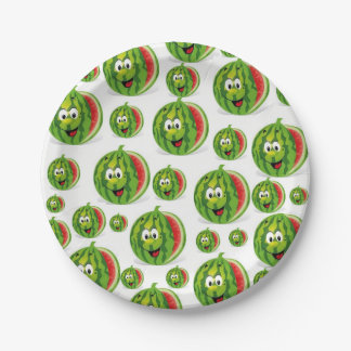 Paper plates Watermelons