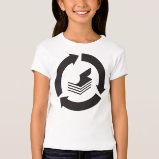 Paper Recycling Girls T-Shirt
