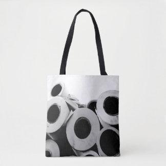 Paper Rolls Cool Unique Tote Bag