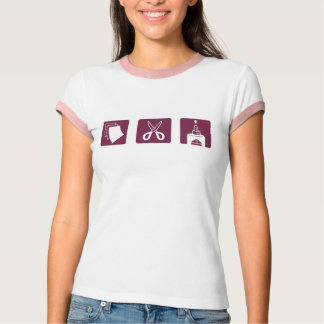 Paper Scissors Glue T-Shirt