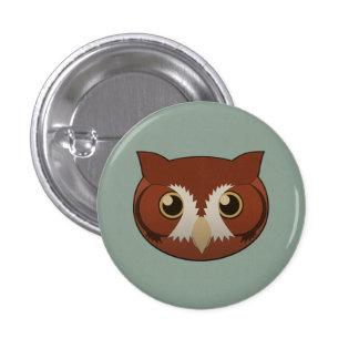 Paper Screech-Owl Pin
