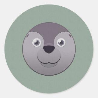 Paper Seal Round Sticker