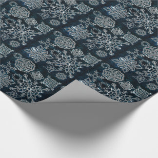 Paper Snowflakes (Midnight Sky pattern)