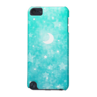 Paper Stars and Moon Fantasy Celestial Art iPod Touch 5G Covers