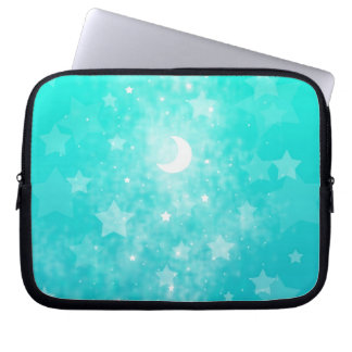 Paper Stars and Moon Fantasy Celestial Art Laptop Computer Sleeves