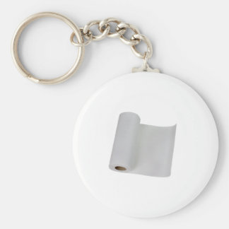 Paper towel basic round button key ring
