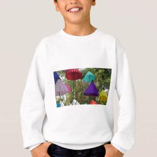 paper umbrella sweatshirt