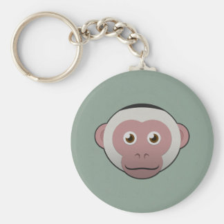 Paper White-Faced Capuchin Key Ring