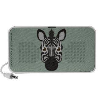 Paper Zebra iPod Speaker