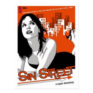 Paperback Postcard: Sin Street Postcard