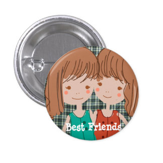 PaperFruit Best Friends Button
