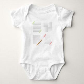 papers baby bodysuit