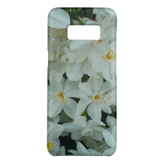 Paperwhite Narcissus Delicate White Flowers Case-Mate Samsung Galaxy S8 Case