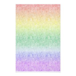Papery Rainbow Stationery