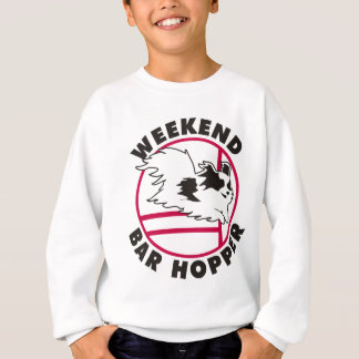 Papillon Agility Weekend Bar Hopper Sweatshirt