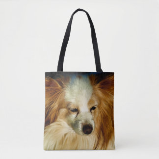 Papillon Beauty - Dog Breed Tote Bag