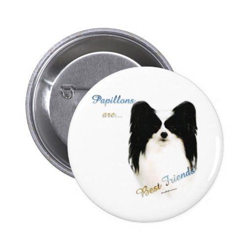 Papillon Best Friend 2 - Button