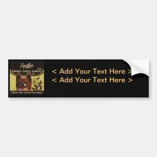 Papillon Brand – Organic Coffee Company Bumper Sticker