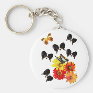 Papillon Butterfly Gifts Key Ring