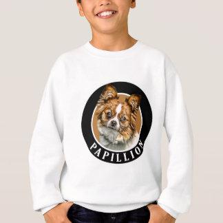 Papillon Dog 002 Sweatshirt