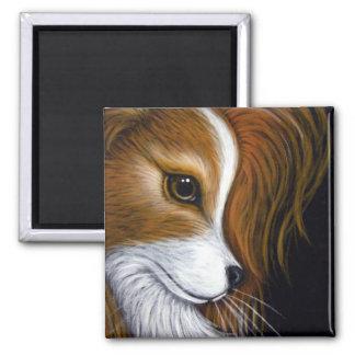 PAPILLON DOG PROFILE 2 Magnet