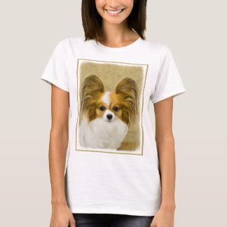 Papillon (Hound Tri Color) T-Shirt