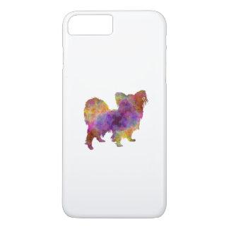 Papillon in watercolor iPhone 7 plus case