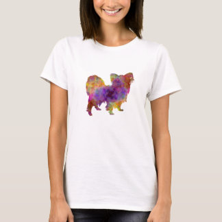 Papillon in watercolor T-Shirt